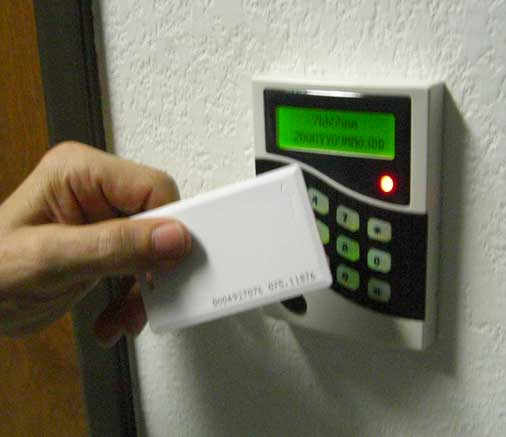 Key Card Access : Card key access virtbiz internet services