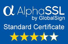 AlphaSSL standard SSL certificate