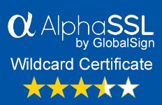 AlphaSSL wildcard SSL