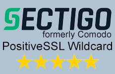 Sectigo Comodo Positive SSL wildcard