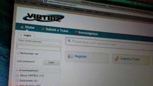 VIRTBIZ Support ticket system